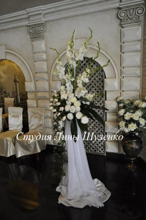 Сердца романтическая осенняя свадьба