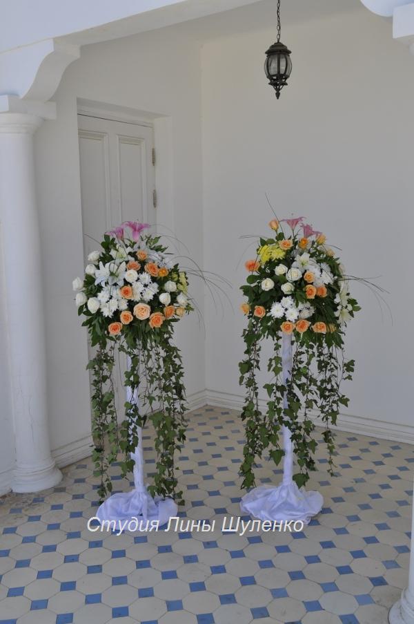 Необычные украшение залов для свадьбы 57