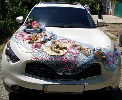 Свадьба оформление машин